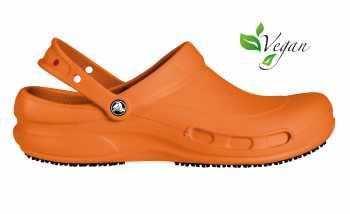 Crocs Bistro Unisex Mario Batali Orange Slip Resistant Soft Toe Clog