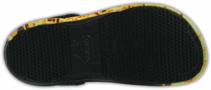 Crocs CRFLAMES Unisex, Bistro Graphic, Soft Toe, Slip Resistant Clog