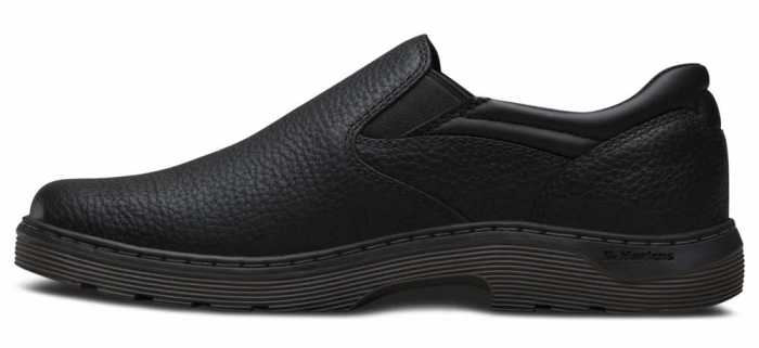 Dr. Martens DMR16943001 Asset Men's, Black, Soft Toe, Twin Gore, Slip Resistant Slip On