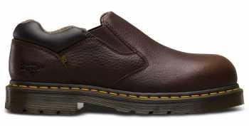 Dr. Martens DMR23120202 Dunston, Men's, Bark, Steel Toe, SD Slip On