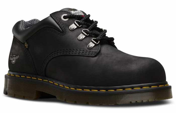 Dr. Martens DMR23121001 Hylow, Unisex, Black, Steel Toe, SD Oxford
