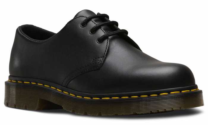 Dr. Martens DMR24381001 1461 Originals, Unisex, Black, Soft Toe Slip Resistant Oxford