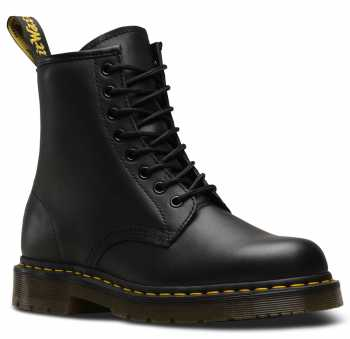Dr. Martens DMR24382001 Unisex 1460, Black, Soft Toe, Slip Resistant, 8 Inch Boot