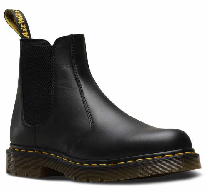 Dr. Martens DMR24383001 2976 Originals Chelsea, Unisex, Black, Twin Gore, Slip Resistant Boot
