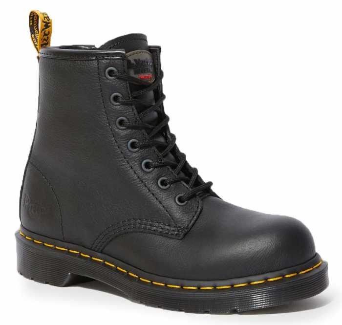Dr. Martens DMR24615001 Maple, Women's, Black, Steel Toe, EH, 6 Inch Boot