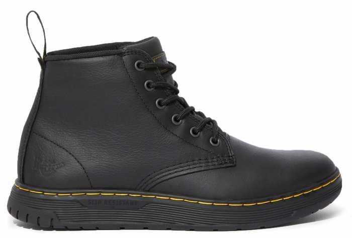 Dr. Martens DMR25126033 Amwell, Men's, Black, Soft Toe, 6 Inch