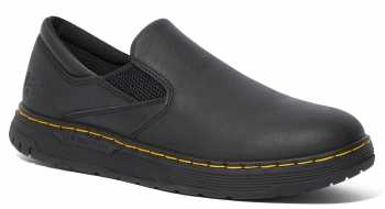 Dr. Martens DMR25142001 Brockley, Men's, Black, Twin Gore Slip On