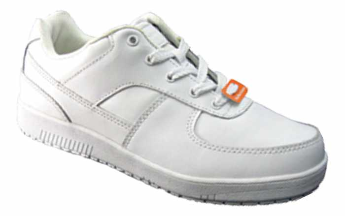 Genuine Grip M215 Women's White, Soft Toe, Slip Resistant, Low Athletic