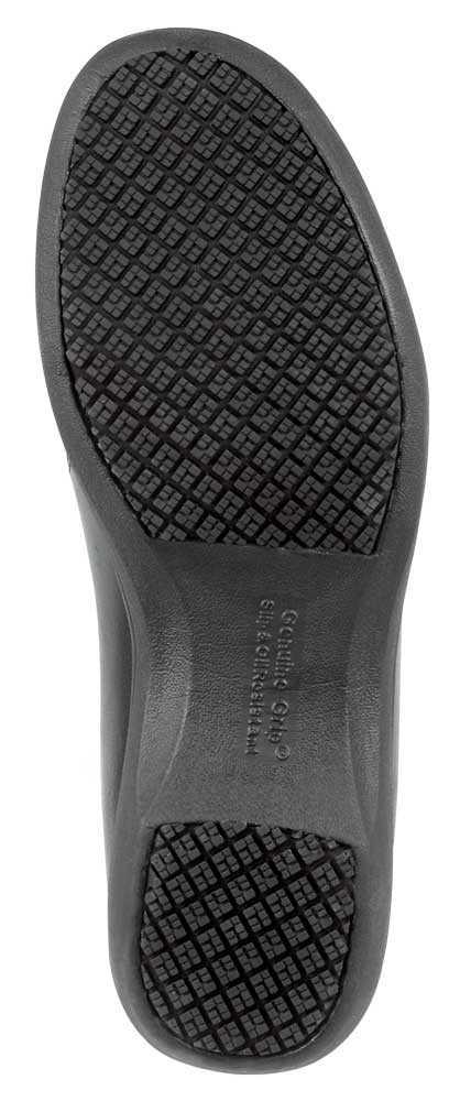 Genuine Grip GGM410 Women's Black, Twin Gore, Slip Resistant Casual