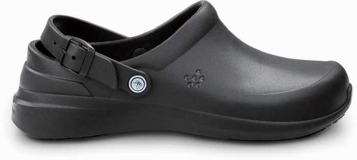 Joybees JOYWBCLGBK Unisex, Black, Soft Toe, Slip Resistant, Work Clog