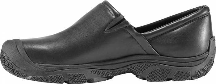 KEEN Utility KN1006983 PTC Slip On II Mens Black Slip Resistant Clog