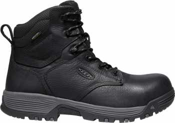 KEEN Utility KN1024184 Chicago, Black, Men's, Comp Toe, EH, WP, 6 Inch Boot