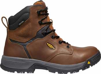KEEN Utility KN1024185 Chicago, Men's, Brown, Soft Toe, EH, WP, 6 Inch Boot