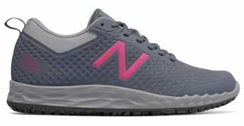 New Balance NBWID806G1 Fresh Foam, Women's, Grey/Pink, Soft Toe Athletic
