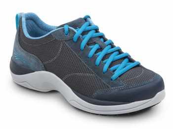 Dansko SDK720254 Sabrina MaxTrax Denim/Columbia Blue Soft Toe, Slip Resistant Athletic