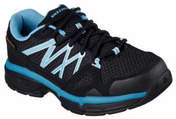 Skechers Conroe Abbenes, Women's, Black/Blue/, Soft Toe, SD Athletic