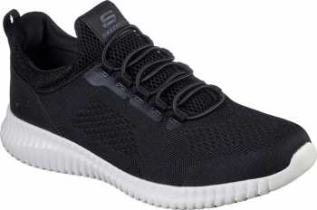 Skechers SK77188BLK Cessnock, Men's, Black/White, Soft Toe, EH, Slip Resistant Casual
