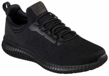 Skechers SK77188BLK Cessnock, Men's, Black, Soft Toe, EH, Slip Resistant Casual