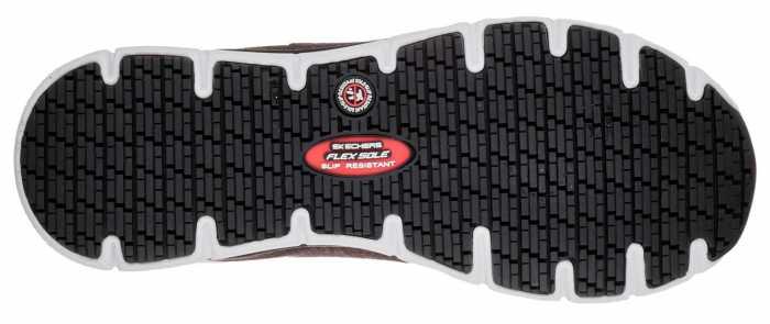 SKECHERS Work Work SK77217BKW Black/White Comfort Flex Pro HC Soft Toe, Slip Resistant Women's Athletic