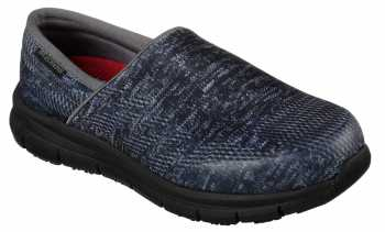 Skechers SK77239BBK Comfort Flex Pro, Women's, Black, Soft Toe Slip On