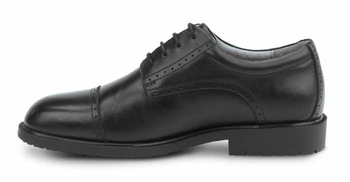SR Max SRM3020 Augusta Men's Black Slip Resistant, Cap Toe, Dress oxford