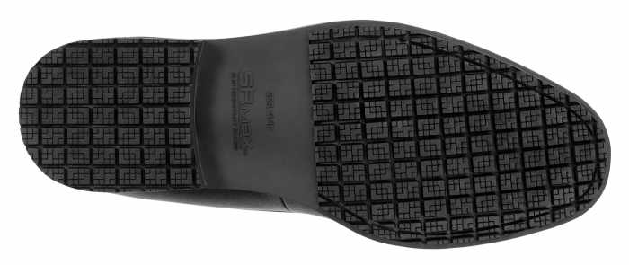 SR Max SRM3010 Burlington, Men's, Black, Penny Loafer Style Soft Toe Slip Resistant Work Shoe