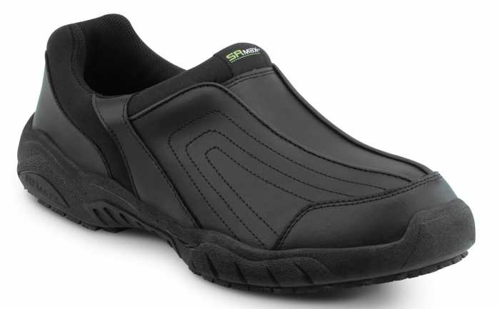 SR Max SRM1400 Charlotte, Men's, Black, Athletic Slip On Style Slip Resistant Soft Toe Work Shoe