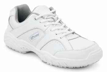 SR Max SRM154Seattle Women's White Slip Resistant Low Athletic