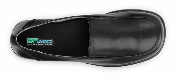SR Max SRM530 Venice Women's Black, Slip Resistant, Twin Gore Dress Slip On