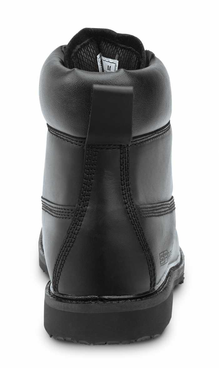 SR Max SRM5000 Washington Men's Black, Steel Toe, Slip Resistant, 6 Inch Work Boot
