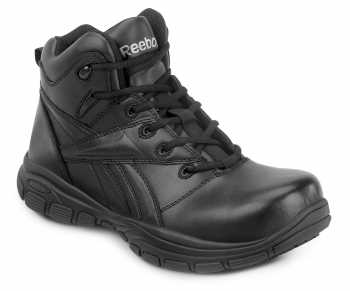 Reebok SRB1255 Black Comp Toe, Slip Resistant, Men's Hi Top Senexis MaxTrax Athletic