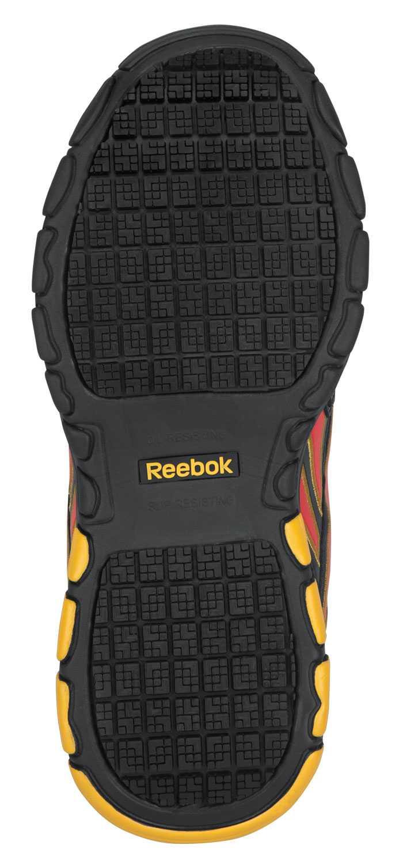 Reebok SRB131 Franklin Black/Yellow, Soft Toe, SR, Women's Senexis MaxTrax Athletic
