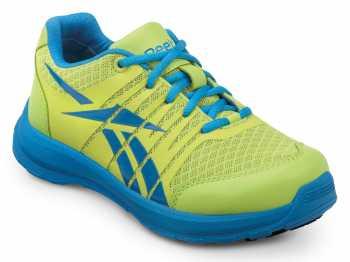Reebok SRB146 Yellow/Blue, Soft Toe, Vegan, Slip Resistant Arion MaxTrax Athletic