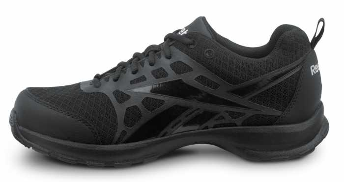 Reebok SRB150 Black, MaxTrax, Soft Toe, Vegan, Slip Resistant Beamer MaxTrax Athletic