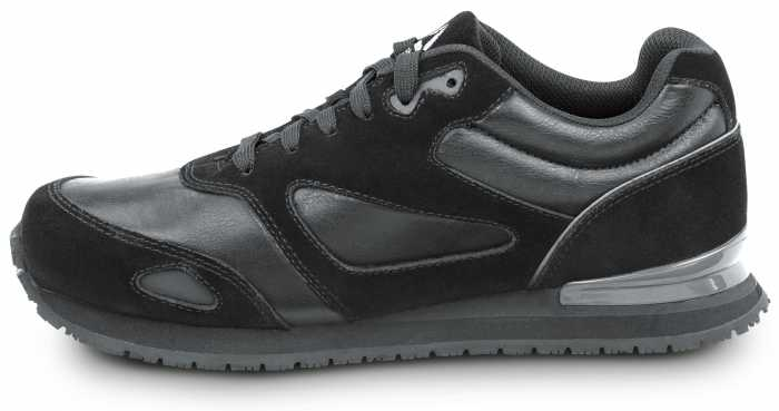 Reebok Work SRB1977 Prelaris, Black, Men's Jogger Style Slip Resistant Soft Toe Work Shoe