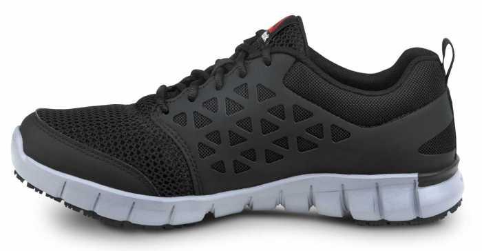 Reebok SRB3201 Sublite Cushion Work, Black/Gray, Men's, Slip Resistant Athletic