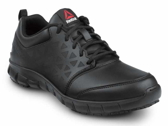 Reebok SRB3203 Sublite Cushion Work, Black, Men's, Slip Resistant Athletic