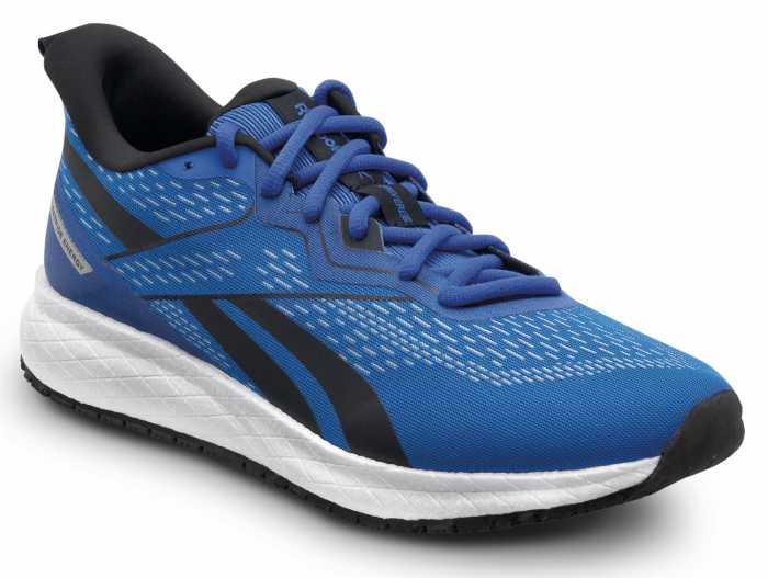 Reebok Work SRB3312 Floatride Energy, Men's, Blue/White, Athletic Style Slip Resistant Soft Toe Work Shoe