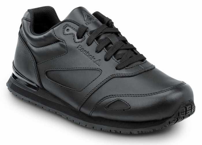 Reebok SRB970 Prelaris Women's, Black, Soft Toe, Slip Resistant Athletic