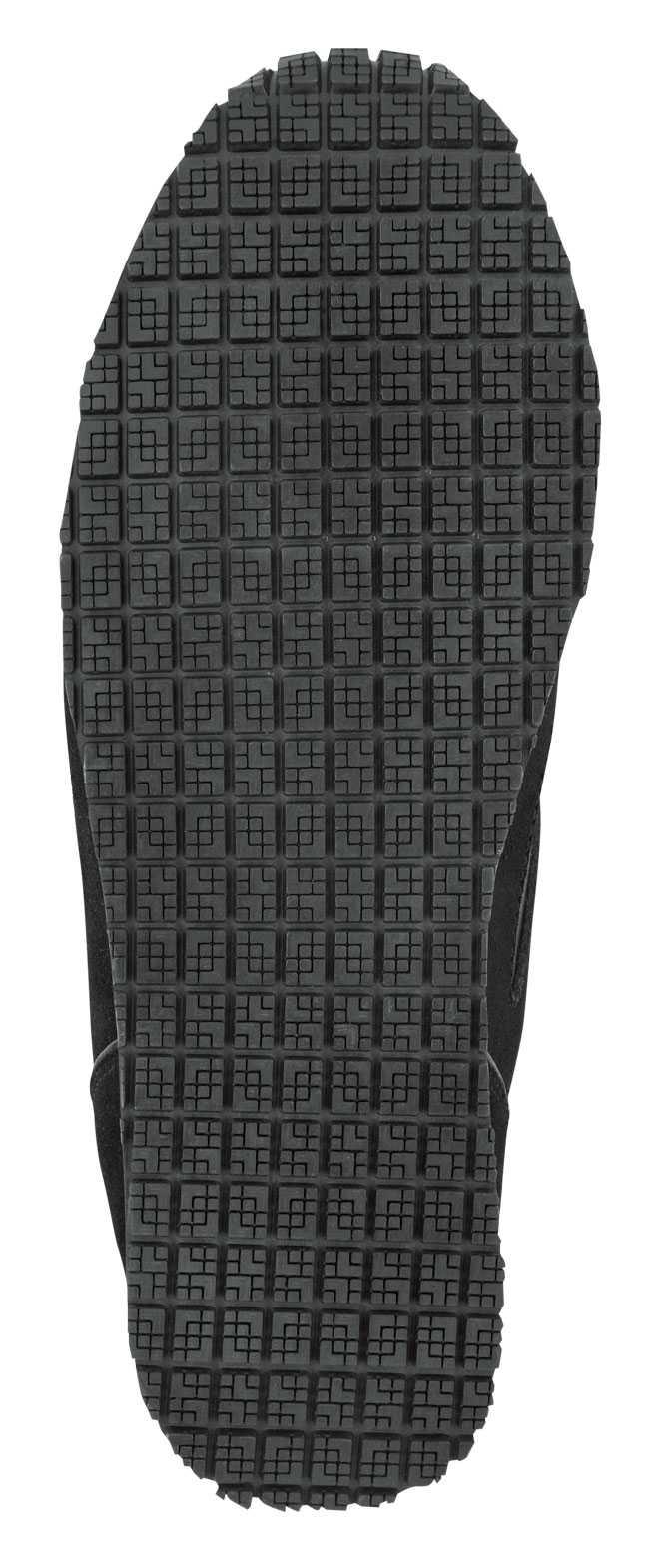 Reebok SRB972 Women's Black/Grey, Soft Toe, Slip Resistant, Prelaris MaxTrax Jogger