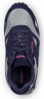 Reebok SRB978 Women's Black/Grey/Pink, Soft Toe, Slip Resistant, Prelaris MaxTrax Jogger