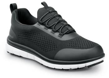 SR Max SRM157 Anniston, Women's, Black/White, Slip On Athletic Style Slip Resistant, EH, Soft Toe Work Shoe