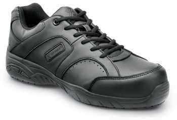 SR Max SRM1880 Fairfax II, Men's, Black, Athletic Style Slip Resistant, Comp Toe, EH, Work Shoe