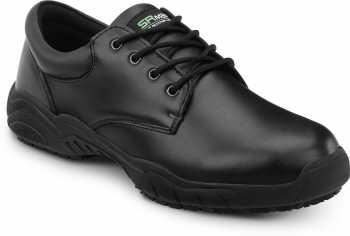 SR Max SRM190 Brockton, Women's, Black, Oxford Style Slip Resistant Soft Toe Work Shoe
