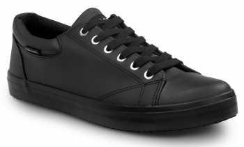 SR Max SRM193 Philadelphia Women's, Black, Skate Style Slip Resistant Soft Toe Work Shoe