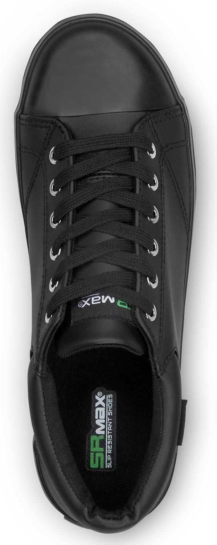 SR Max SRM1950 Melbourne Black, Men's, Sof toe, Slip Resistant Skate Shoe