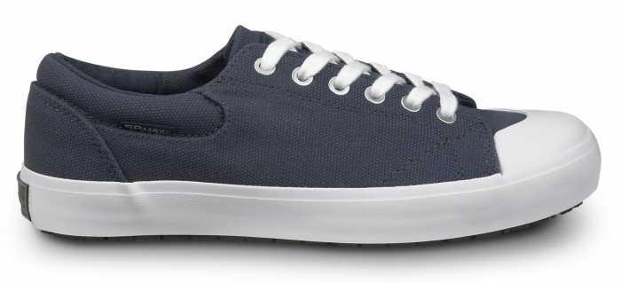 SR Max SRM198 Barcelona, Women's, Navy/White, Skate Style Slip Resistant Soft Toe Work Shoe