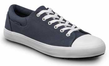 SR Max SRM1980 Berlin, Men's, Navy/White, Skate Style Slip Resistant Soft Toe Work Shoe