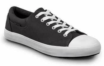 SR Max SRM1990 Berlin, Men's, Black/White, Soft Toe, Slip Resistant, Skate Shoe