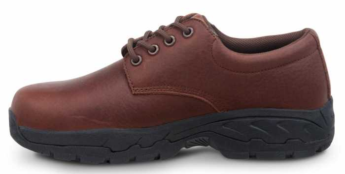 SR Max SRM2060 Burke Brown, Men's, Comp Toe, EH, Security Friendly, Casual Oxford